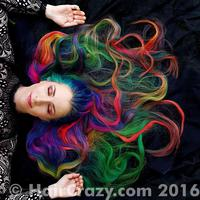 Trisha Reibelt on her Amazing Rainbow Hair