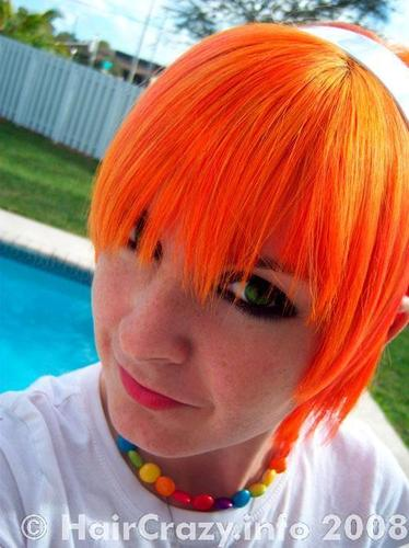 Buy Napalm Orange Special Effects Hair Dye - HairCrazy.com - photo #47