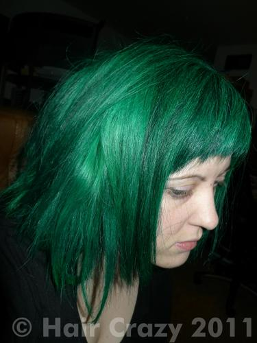 Buy Sonic Green Special Effects Hair Dye Haircrazy Com