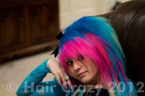 sarahlovesherhair -   - Directions Carnation Pink   - Directions Lagoon Blue   - Directions Turquoise