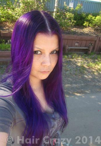 Buy Deep Purple Special Effects Hair Dye Haircrazy Com
