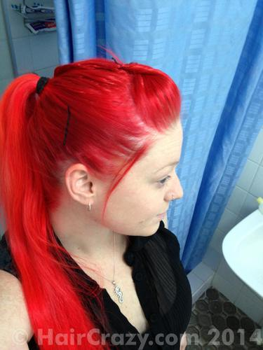 Buy Nuclear Red Special Effects Hair Dye - HairCrazy.com - photo #8