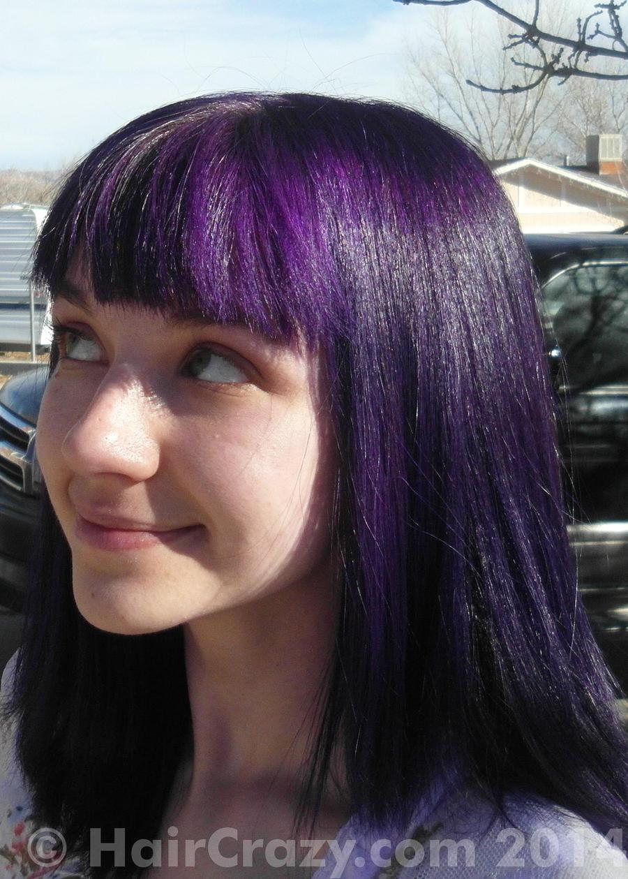purple hair photos haircrazycom