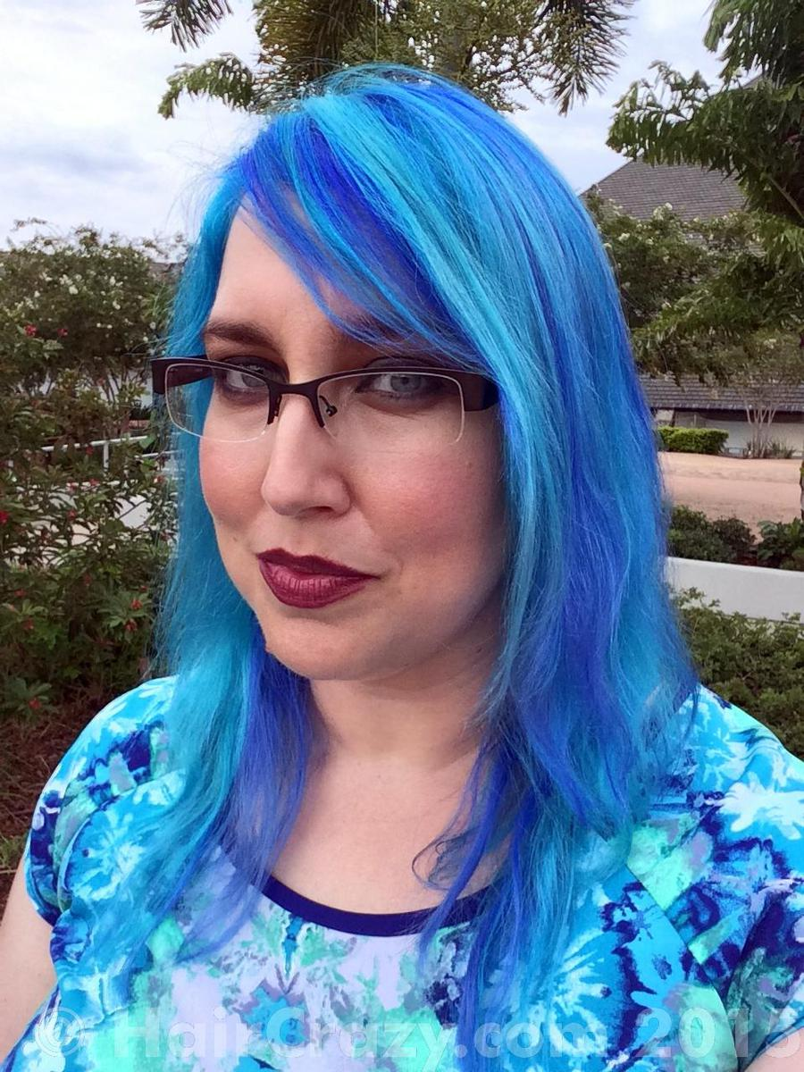 Piscine -   - Lagoon Blue (Punky)   - Manic Panic Atomic Turquoise   - Special Effects Blue Mayhem